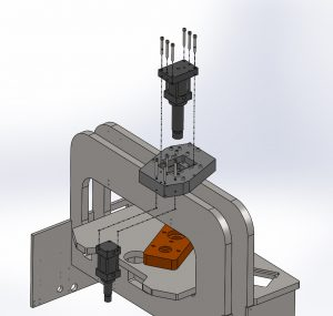 new mounting system for Jomar preform cylinders